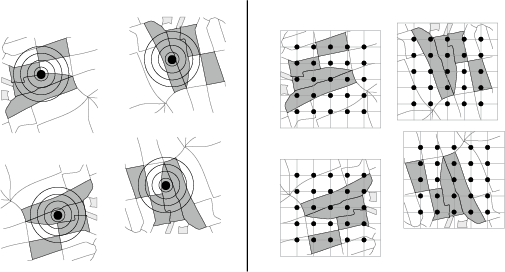 Measuring landscape context using grid sampling rather than concentric circles